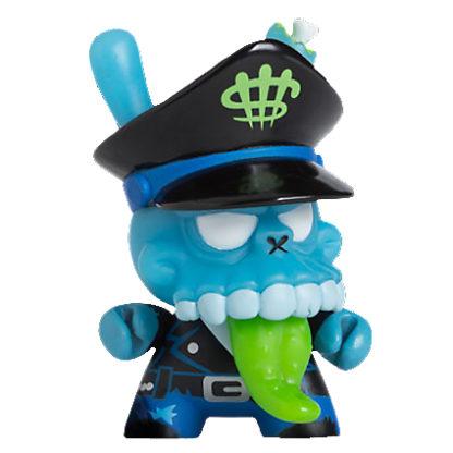 Dunny 2011 - MAD Zombie Biker (blau) - superchan.de