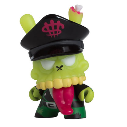 Dunny 2011 - MAD Zombie Biker (green) CHASE - superchan.de