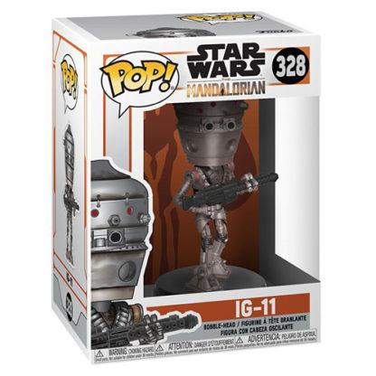 POP! Movies: Star Wars - Mandalorian IG-11 (#328) Bobble-Head - superchan.de
