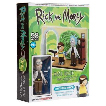 Rick & Morty - Evil Rick & Morty (Bausatz) - superchan.de