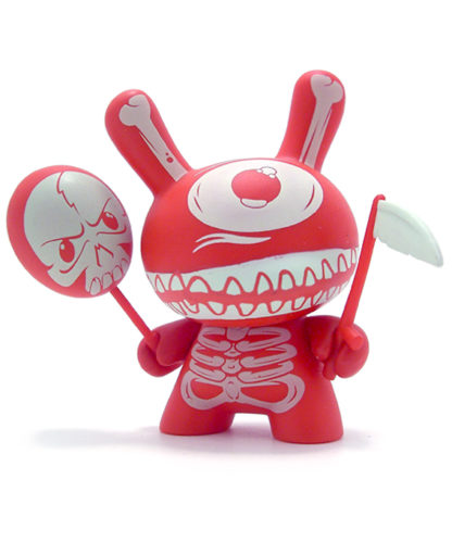 Dunny UK - Mimic (red) CHASE - superchan.de