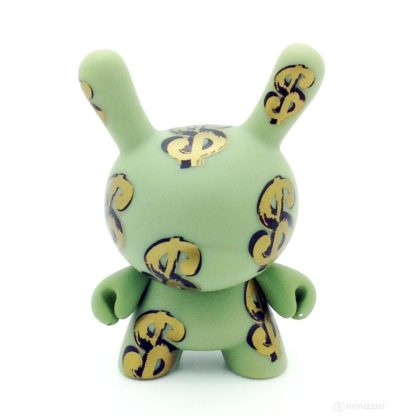 Dunny Warhol S1 - Dollar Signs (Case excl.) SEALED - superchan.de
