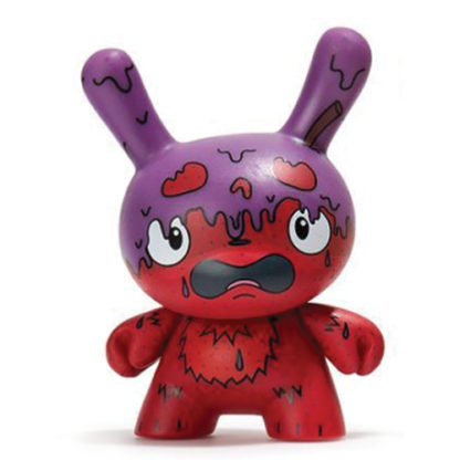 Dunny Scared Silly - G.M.D. (purple/red) - superchan.de
