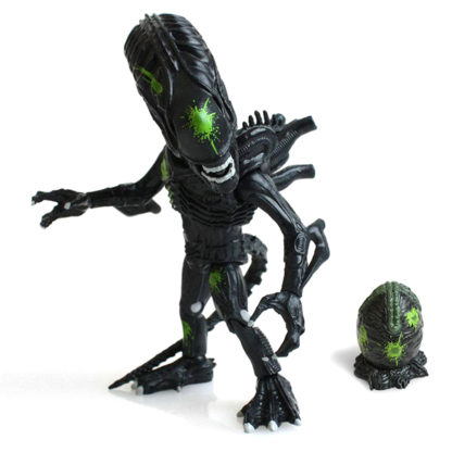 The Loyal Subjects: Aliens - Xenomorph (Black) Battle Damage - superchan.de
