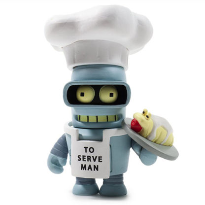 KR x Futurama: Good News Everyone - Chef Bender - superchan.de