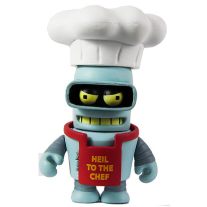 KR x Futurama: Good News Everyone - Chef Bender CHASE - superchan.de
