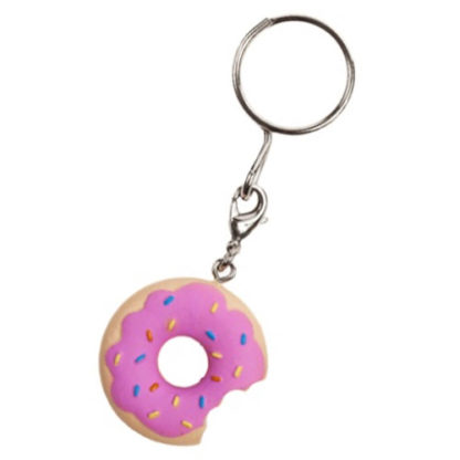 KR x Simpsons: 25th Anniversary Series KEYCHAINS - Sprinkle Donut - superchan.de