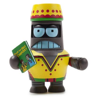 Kidrobot Futurama: Good News Everyone - Kwanzaa Bot - superchan.de