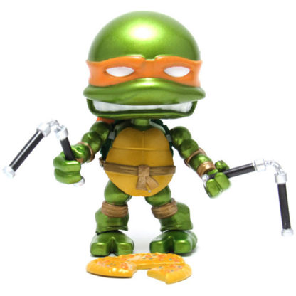 The Loyal Subjects x Nickelodeon: TMNT - Michelangelo (Metallic) - superchan.de