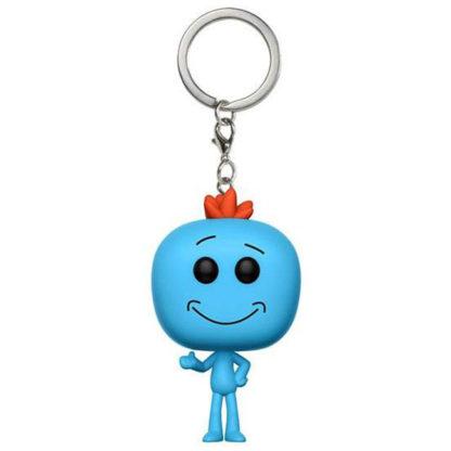 Pocket POP! TV: Rick & Morty - Mr. Meeseeks (Keychain) - superchan.de