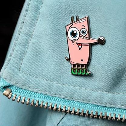 Pinky Ponko Pin (Enamel) - superchan.de