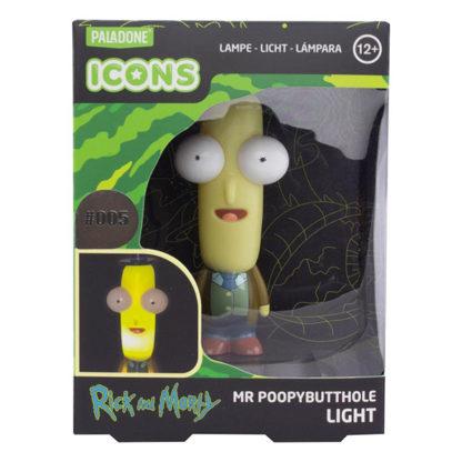 Rick & Morty 3D Icon Lampe - Mr. Kakapopoloch - superchan.de
