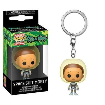 Pocket POP! TV: Rick & Morty - Space Suit Morty (Keychain) - superchan.de
