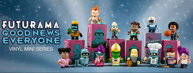 Kidrobot x Futurama: Good News Everyone Series