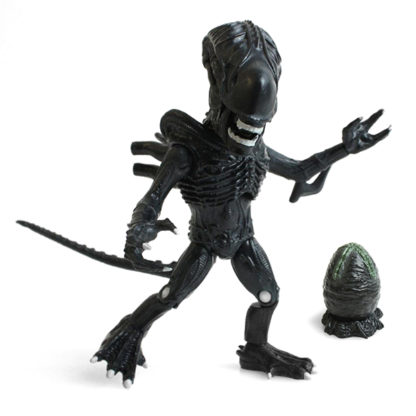 The Loyal Subjects: Aliens - Xenomorph (Black) Egg Closed - superchan.de