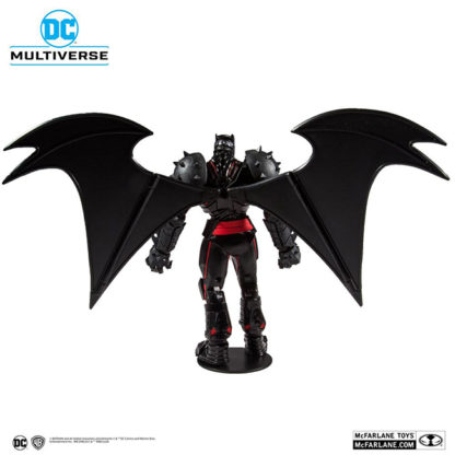 McFarlane Toys x DC Comics: Batman & Robin - Batman (Hellbat Suit) Actionfigur - superchan.de