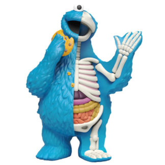 Freeny's Hidden Dissectibles: Sesame Street - Cookie Monster