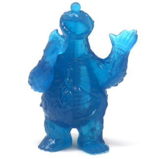 Freeny's Hidden Dissectibles: Sesame Street - Cookie Monster (clear) Hidden