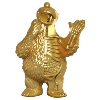 Freeny's Hidden Dissectibles: Sesame Street - Cookie Monster (gold) Hidden