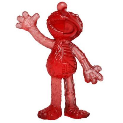 Freeny's Hidden Dissectibles: Sesame Street - Elmo (clear) Hidden