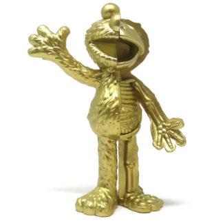 Freeny's Hidden Dissectibles: Sesame Street - Elmo (gold) Hidden