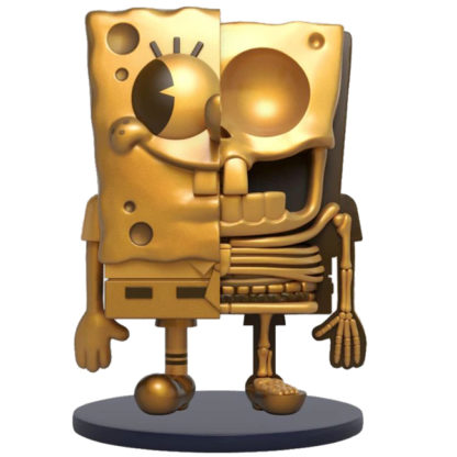 Freeny's Hidden Dissectibles: Spongebob (Classic Ed.) - Spongebob (gold) CHASE - superchan.de