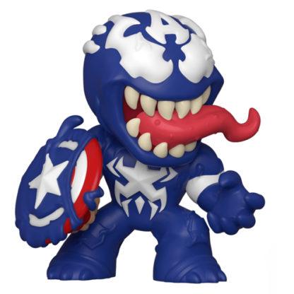 Funko Mystery Minis: Marvel Venom - Venomized Captain America - superchan.de