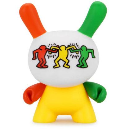 Dunny Keith Haring - 3 Colors Dancing - superchan.de
