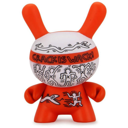 Dunny Keith Haring - Crack is Wack by Kidrobot