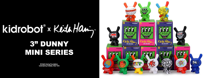 Keith Haring Dunny Mini Series