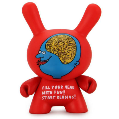 Dunny Keith Haring - Start Reading by Kidrobot