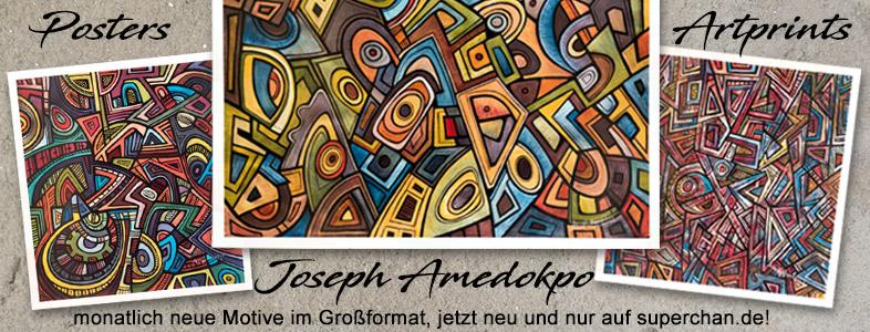 Artprints by Joseph Amedokpo