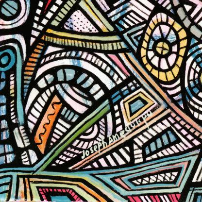 Artprint Joseph Amedokpo - In the city of the blind (75 × 75cm) Signature