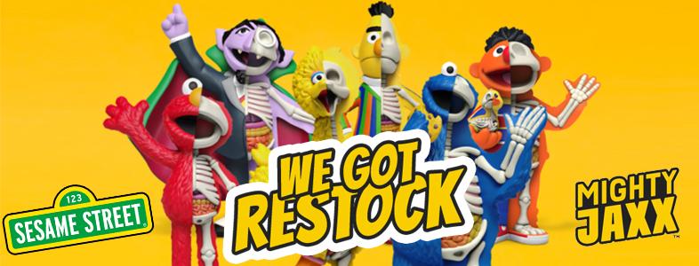 Freeny's Hidden Dissectibles: Sesame Street