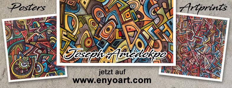 Artprints by Joseph Amedokpo... jetzt auf enyoart.com