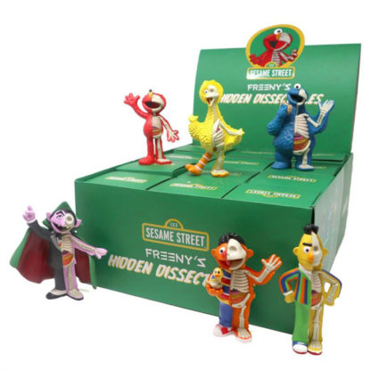 Freeny's Hidden Dissectibles: Sesame Street - Case (12 Blindboxen)