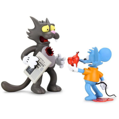 Kidrobot x The Simpsons - Itchy and Scratchy: My bloody Valentine SET - superchan.de
