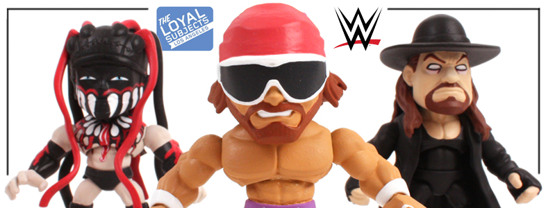 The Loyal Subjects WWE Action Vinyls