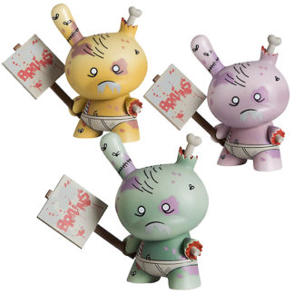 Dunny 2011 - Huck Gee ZOMBIE SET