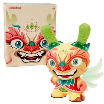 Imperial Lotus Dragon Dunny by Scott Tolleson (light Version) - superchan.de