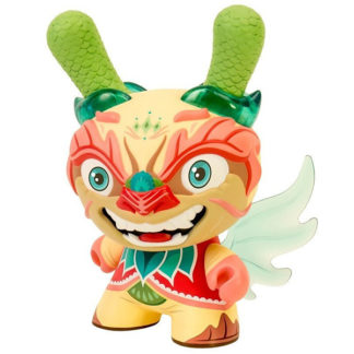 Imperial Lotus Dragon Dunny by Scott Tolleson (light Version)