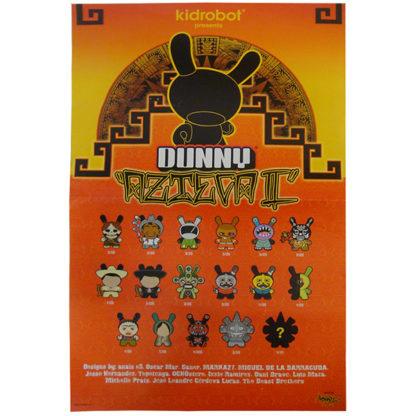 kidrobot dunny azteca series 2 poster