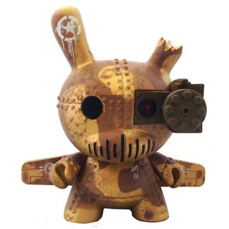 Dunny Art of War - DrilOne (Case exclusive) GOLD