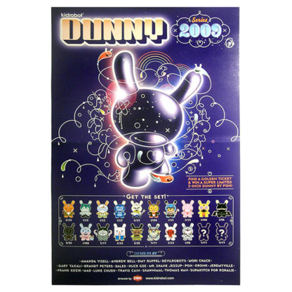 Kidrobot Dunny Series 2009 Poster