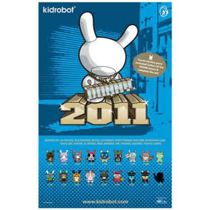 Kidrobot Dunny Series 2011 Poster
