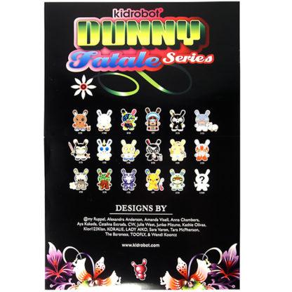 Kidrobot Dunny Fatale Series Poster