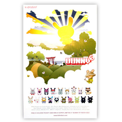 Kidrobot Dunny Series 5 Poster