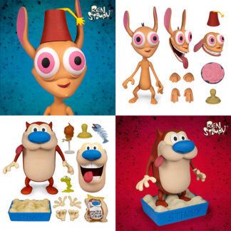 Super 7: Ren and Stimpy (Deluxe Ed.) - Ren and Stimpy SET
