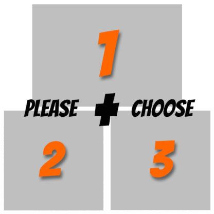 3 Artprints by Joseph Amedokpo - Please choose