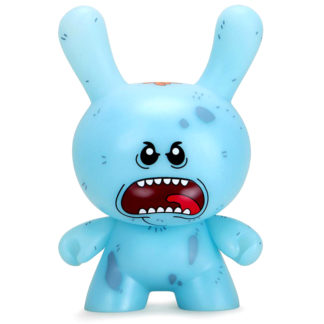Kidrobot 8 Dunny Diseased Mr Meeseeks NYCC Figur
